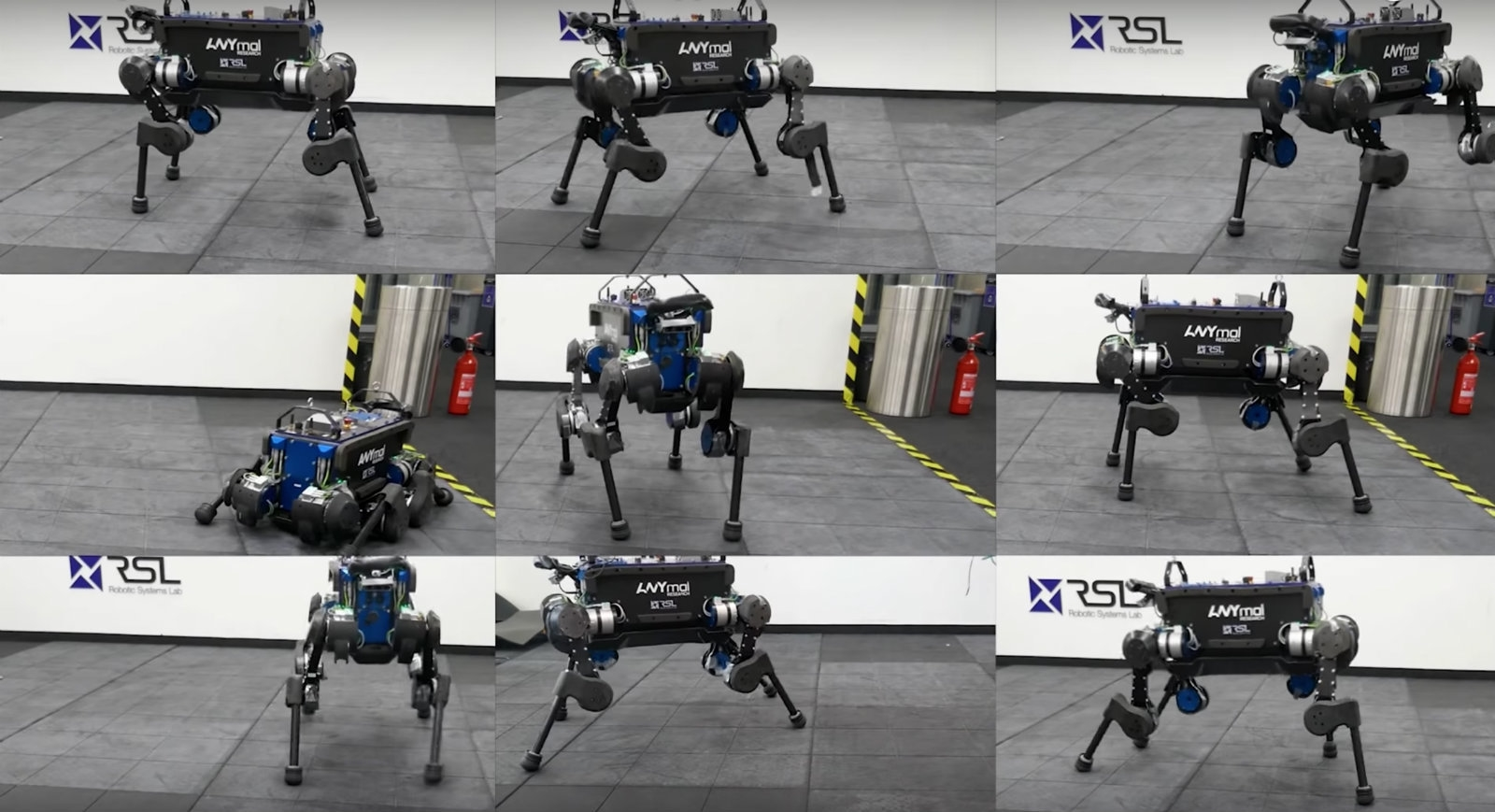 Researchers train robot dog to pick itself back up after a fall | DeviceDaily.com
