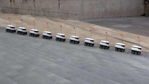 These cute little robots now deliver late-night snacks to world's luckiest college kids