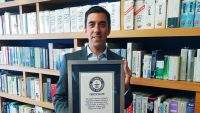 This guy holds the Guinness World Record for collecting spreadsheets