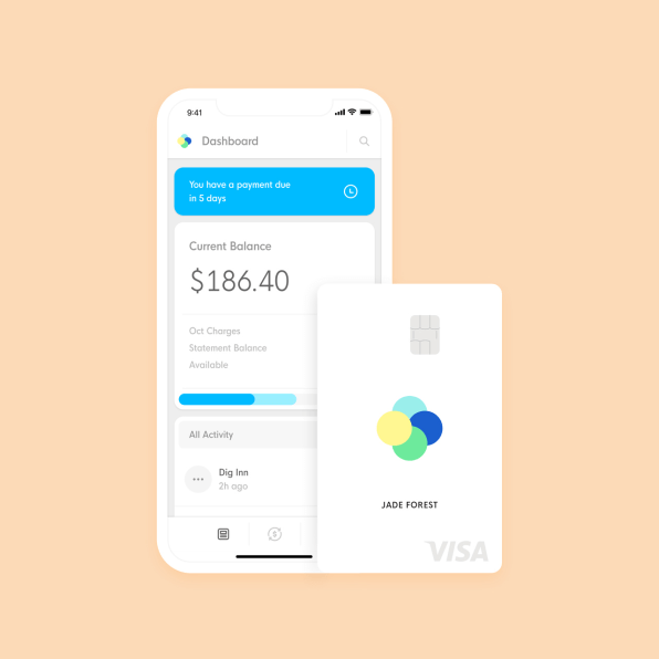 This new credit card helps build a credit score for people who don't have one | DeviceDaily.com