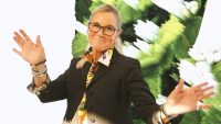 Apple retail chief Angela Ahrendts is stepping down in April