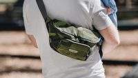 Carry your kid's diapers, but make it fashion with this fanny pack