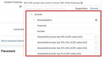 Facebook introduces household income targeting based on U.S. ZIP code averages