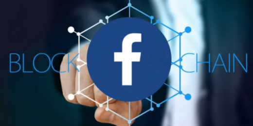 How could Facebook's use of blockchain affect marketing and advertising?
