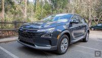 Hyundai's Nexo makes a case for fuel-cell SUVs