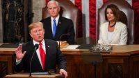 No words: These reaction shots to Trump's State of the Union speech say it all