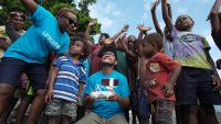 On these remote Pacific islands, children now get life-saving vaccines from drones