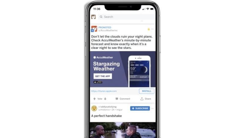 Reddit App Install ads are, here along with new 3rd party attribution options, more tracking capabilities | DeviceDaily.com