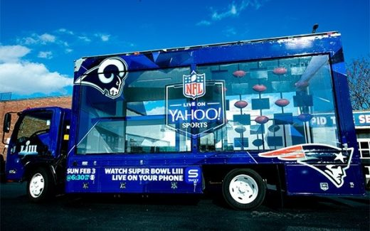 Yahoo Sports Creates Activations Around Super Bowl