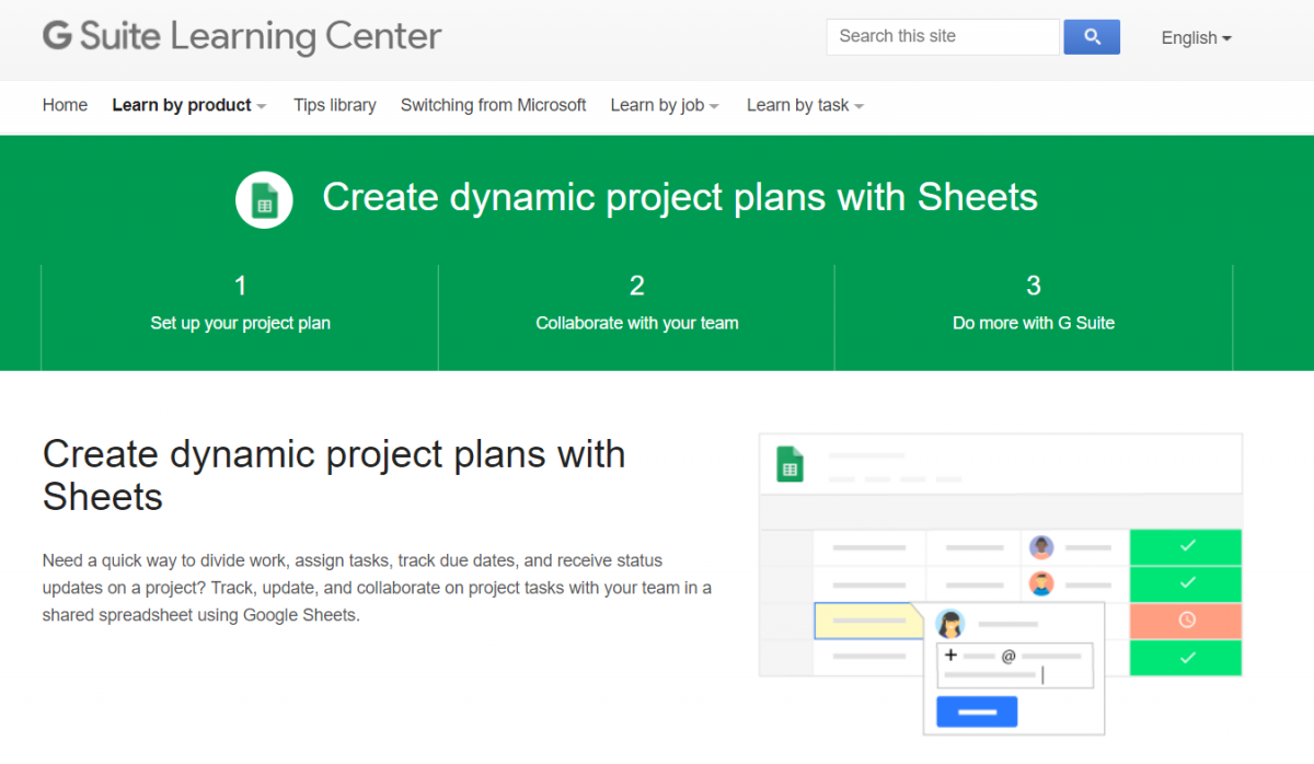 Google Sheet Templates for Project Management | DeviceDaily.com