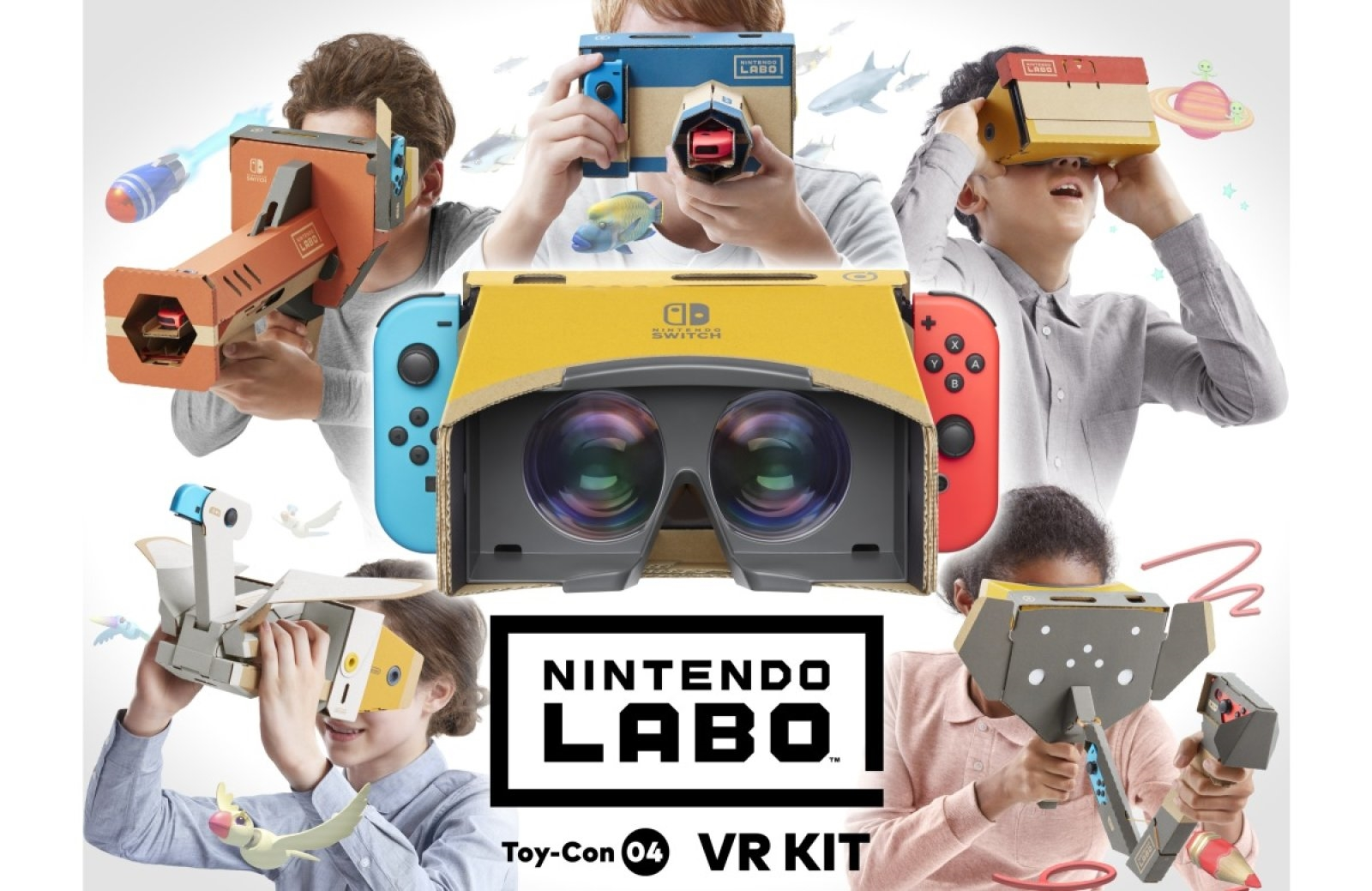 Nintendo next Labo kit is all about virtual reality | DeviceDaily.com