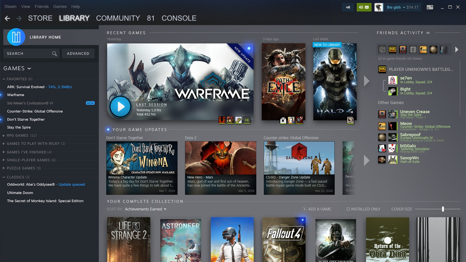 Steam's redesigned library will show what's happening with your games | DeviceDaily.com