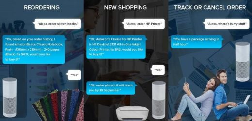 Voice Command – New Era of Alexa Based Online Shopping