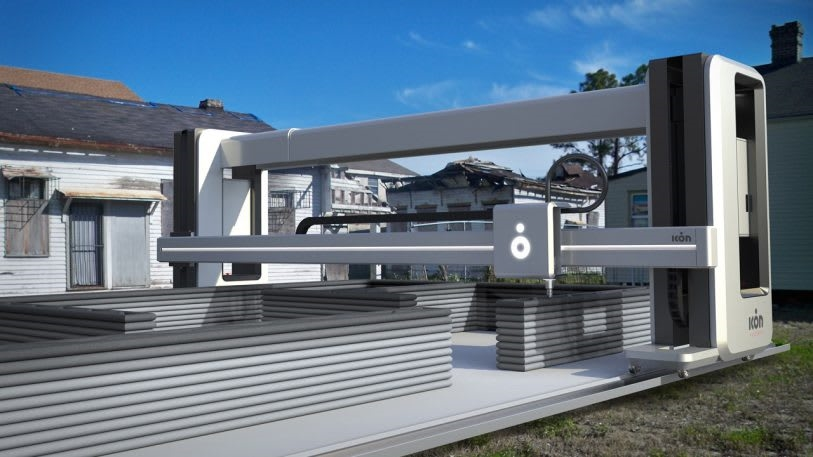 There will soon be a whole community of ultra-low-cost 3D printed homes | DeviceDaily.com