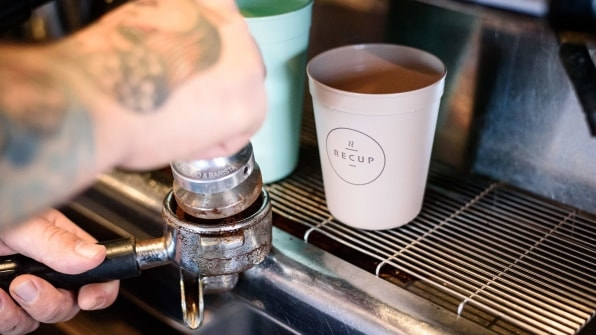 Starbucks and McDonald's are testing these radical cups of