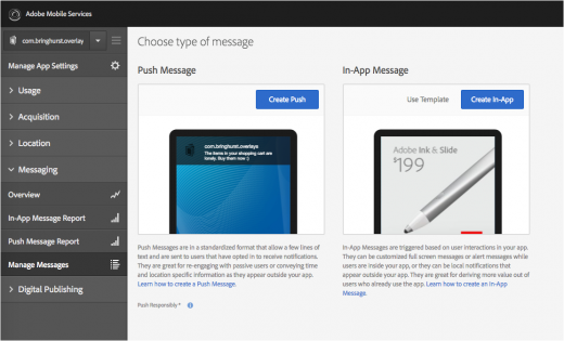 Adobe Adds In-App Messaging And A Location Service