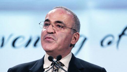 "Chess legend Garry Kasparov: ""Humans still have the monopoly on evil"""