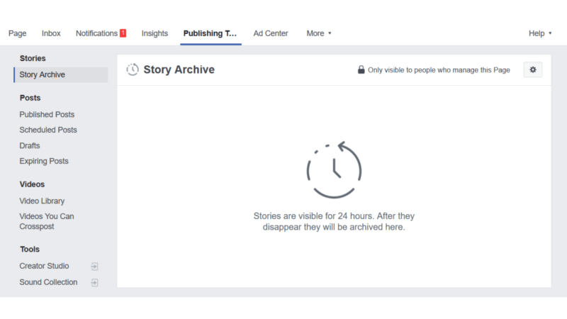 Facebook testing features that let Pages archive and share Stories | DeviceDaily.com