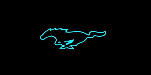 Ford drops an electric blue-ish Mustang teaser on Tesla's festivities