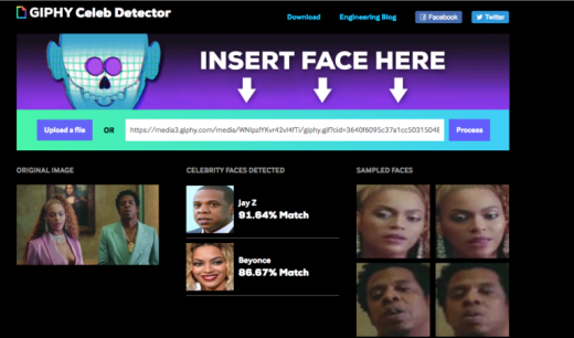 GIPHY Enters the Open Source Community with Celebrity Detector