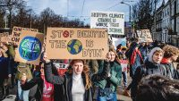 How kids organized the massive school walkout demanding action on climate change