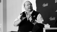 It took a full year, but Mario Batali is finally leaving his restaurants and Eataly