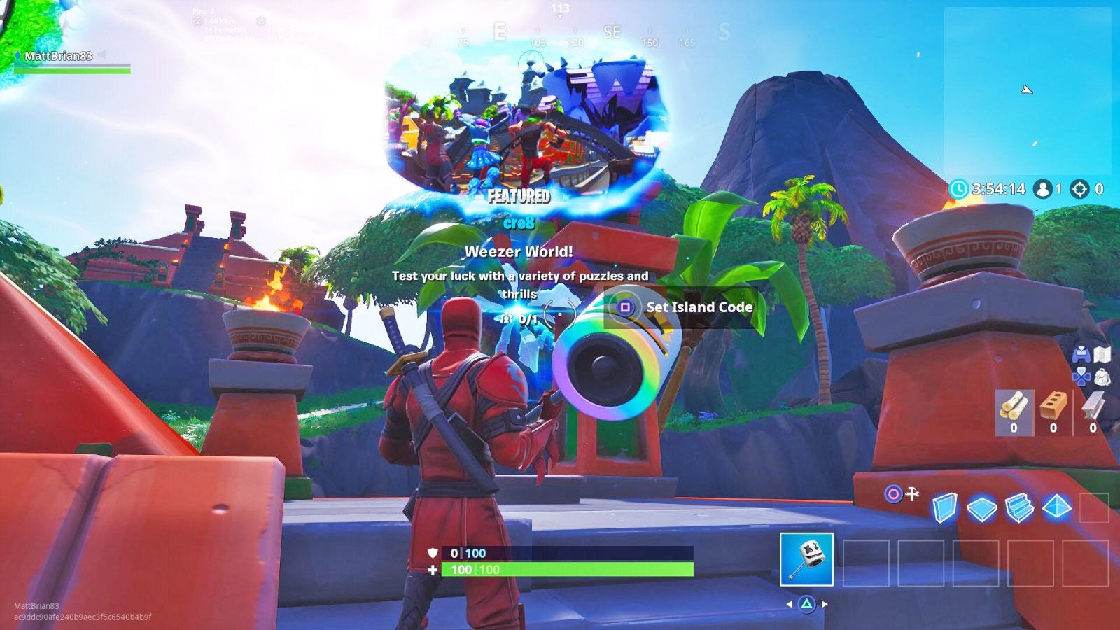Weezer made an island in 'Fortnite' to promote its new album | DeviceDaily.com