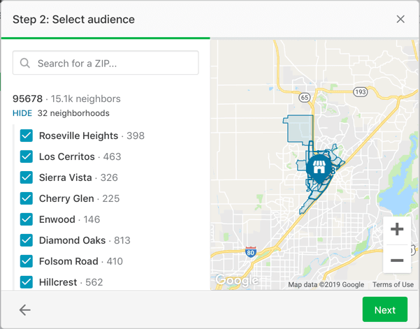Choosing your offer audience on Nextdoor | DeviceDaily.com