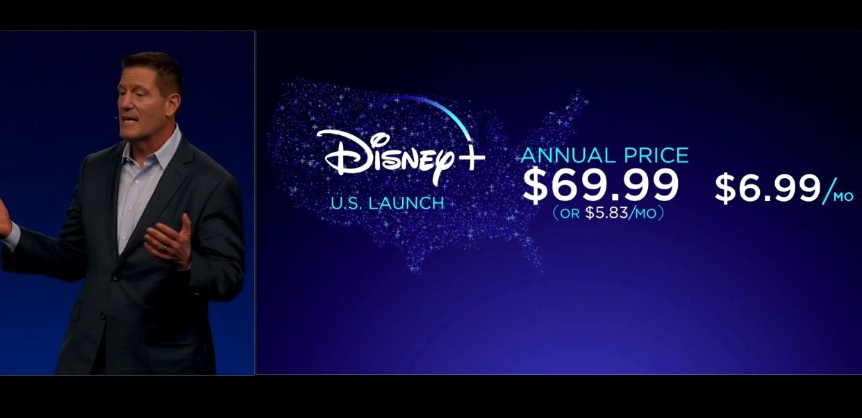 Disney+ will cost $6.99 per month, launches November 12th | DeviceDaily.com