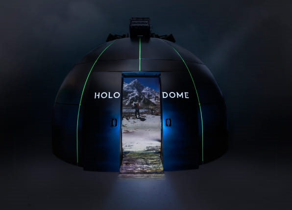 """Paul Allen's virtual reality """"Holodome"""" went to TED looking for partners 