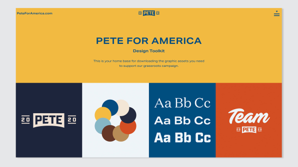 Pete Buttigieg debuts a radical new approach to campaign branding | DeviceDaily.com