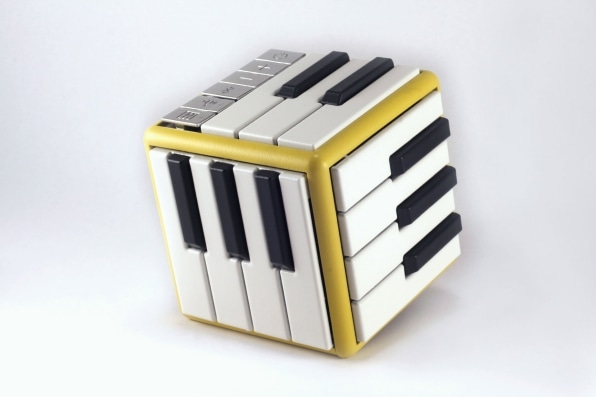 This 3D-printed cube lets users learn and play over 100 instruments | DeviceDaily.com