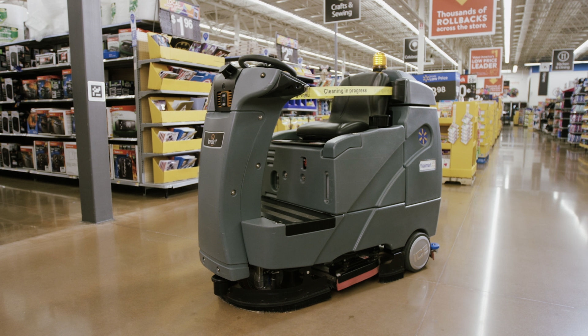 Walmart battles online retail by adding more robots to its stores | DeviceDaily.com
