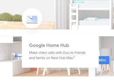 Google Store lists unannounced 'Nest Hub Max' 10-inch smart display
