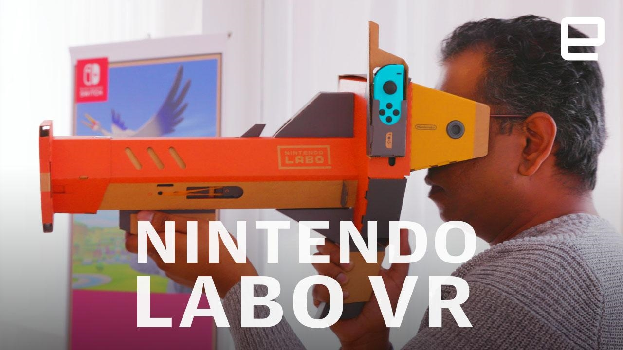 Labo VR modes come to 'Super Mario Odyssey' and 'Breath of the Wild' | DeviceDaily.com
