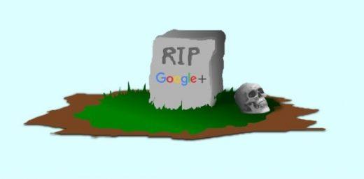 So Long and Farewell Google+
