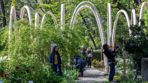 See the first architectural arches grown in a lab