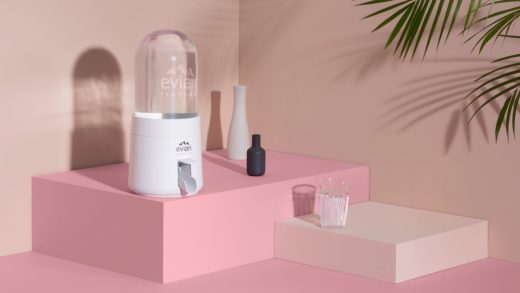 Evian's new plastic water jugs shrink as you drink the water