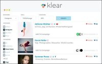 Klear Social Engine Adds Hashtag, Keyword, Brand To Search Capabilities