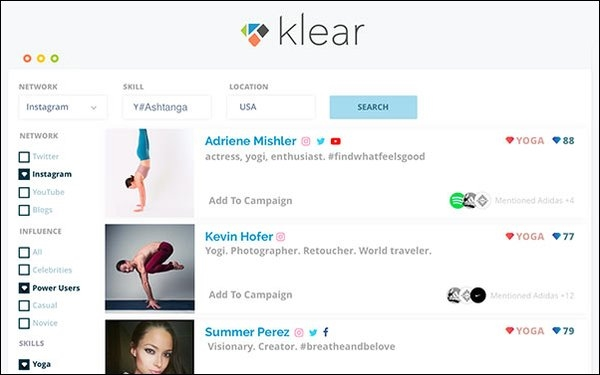 Klear Social Engine Adds Hashtag, Keyword, Brand To Search Capabilities | DeviceDaily.com