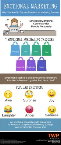 Marketing to Consumers' Emotions [Infographic]