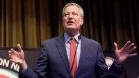 NYC mayor Bill de Blasio slams BuzzFeed management for alleged union busting