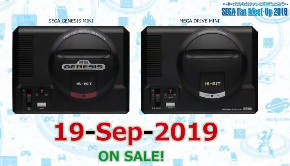 Sega Genesis Mini will launch on September 19th with 40 games | DeviceDaily.com