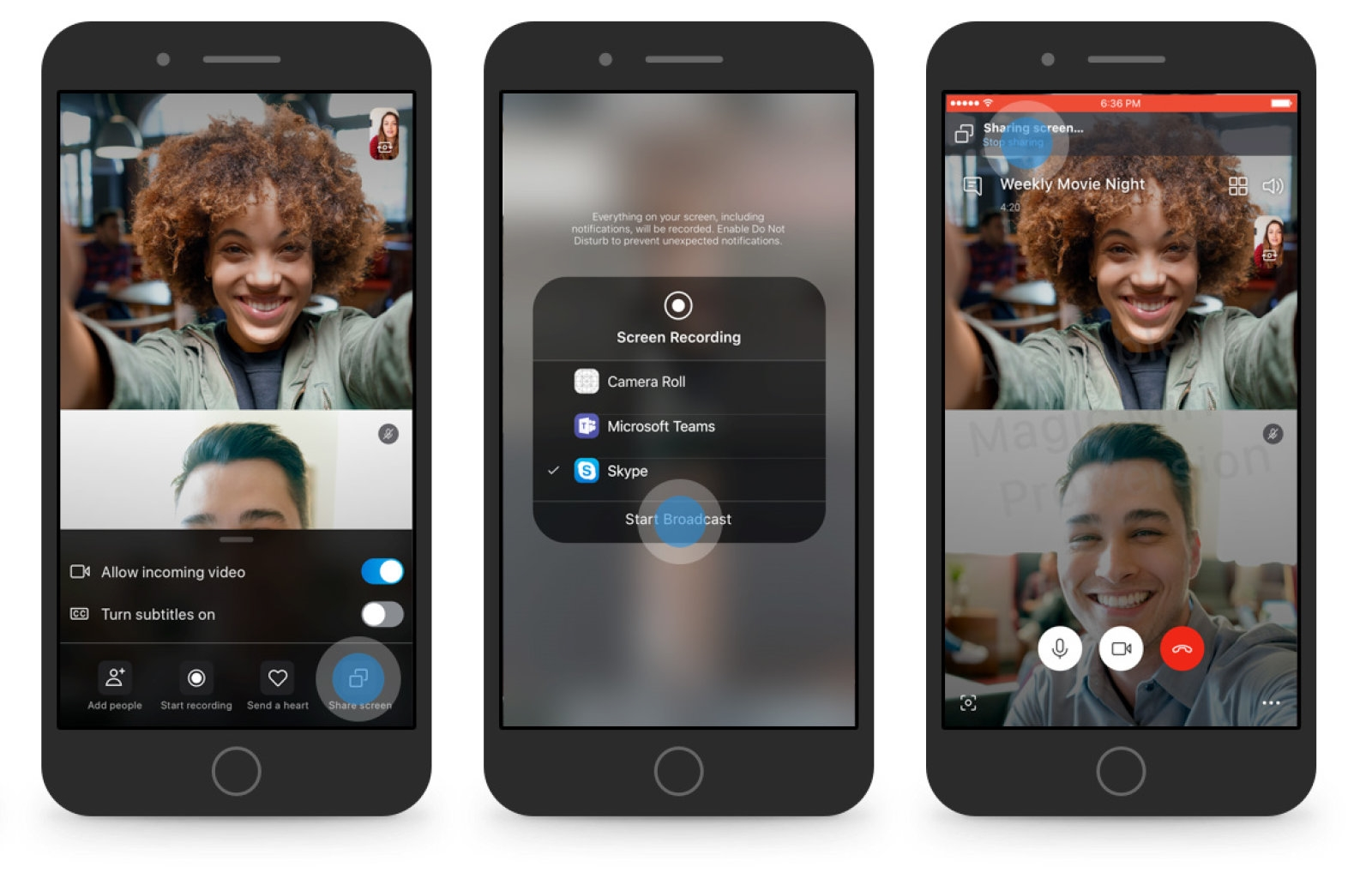 Skype adds screen sharing to its iOS and Android apps | DeviceDaily.com