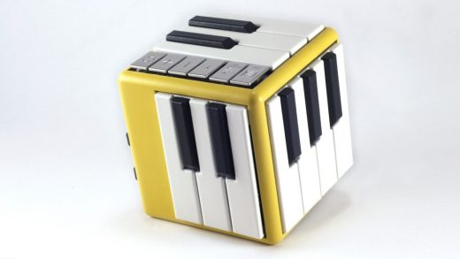 This 3D-printed cube lets users learn and play over 100 instruments