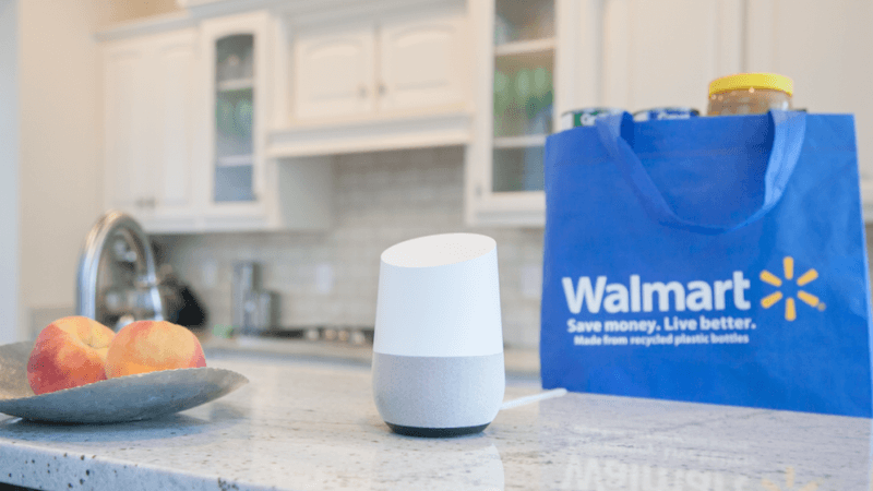 Walmart doubles down on voice grocery shopping with Google Home | DeviceDaily.com