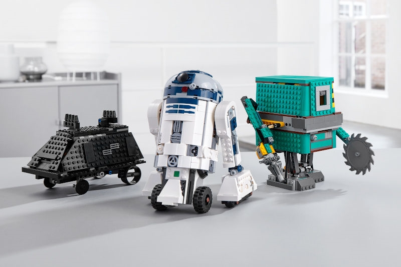 Lego 'Star Wars' droid kit teaches coding with R2-D2's help | DeviceDaily.com