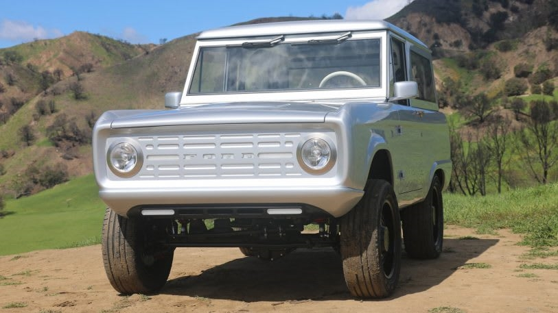 Is this Ford Bronco the most beautiful electric car yet? Probably. | DeviceDaily.com