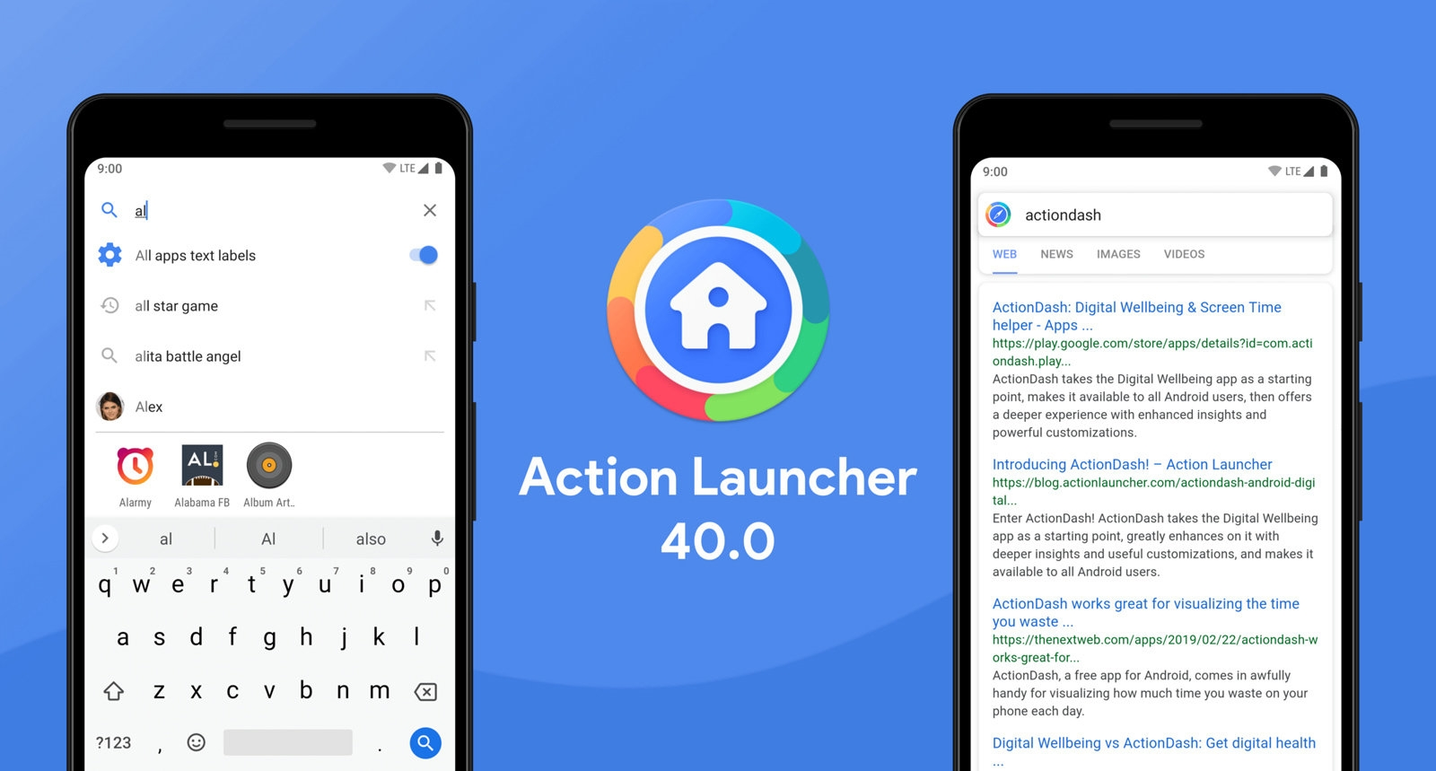 Action Launcher revamp comes with ad-supported searches | DeviceDaily.com