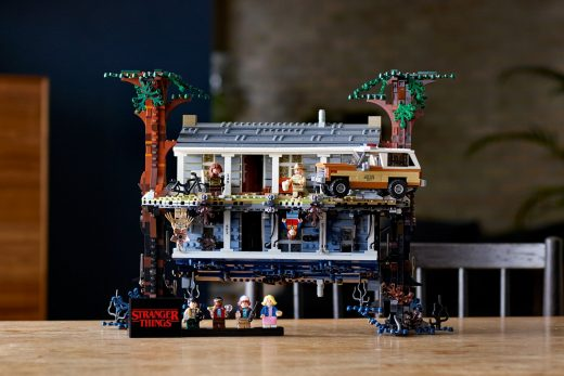 Lego dives into the Upside Down with a 'Stranger Things' play set